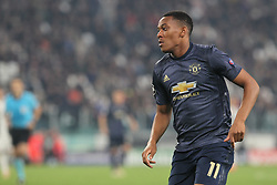 November 7, 2018 - Turin, Piedmont, Italy - Anthony Martial (Manchester Utd. FC) during the UEFA Champions League match between Juventus FC and Manchester United FC,  at Allianz Stadium on November 07, 2018 in Turin, Italy..Juventus FC lost 1-2 against Manchester United. (Credit Image: © Massimiliano Ferraro/NurPhoto via ZUMA Press)