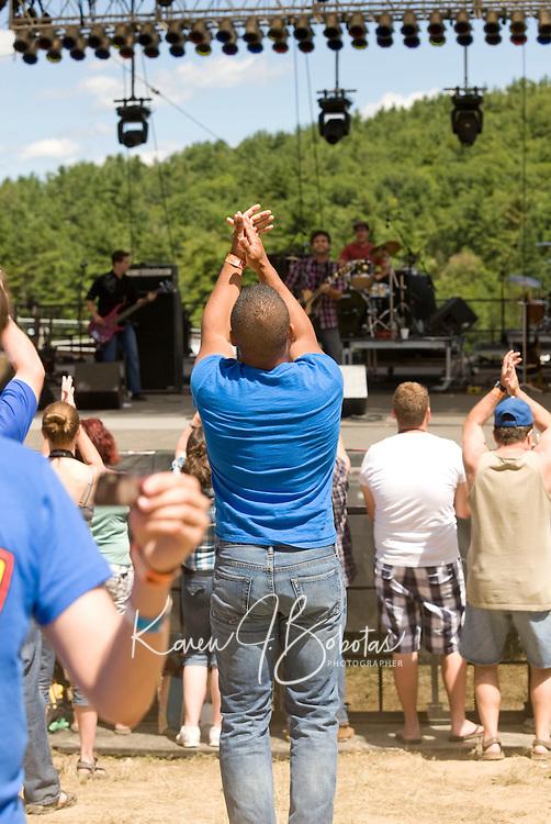 Soufest at Gunstock Mountain Resort August, 2010.