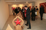Other,Riyas Komu and Peter Drake. - VIP  launch of Aicon. London's largest contemporary Indian art gallery. Heddon st. and afterwards at Momo.15 Marc h 2007.  -DO NOT ARCHIVE-© Copyright Photograph by Dafydd Jones. 248 Clapham Rd. London SW9 0PZ. Tel 0207 820 0771. www.dafjones.com.