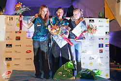 Best climbers for season 2012 at national championship in boulder climbing on December  2, 2012 in Kranj, Slovenia. (Photo By Grega Valancic / Sportida)
