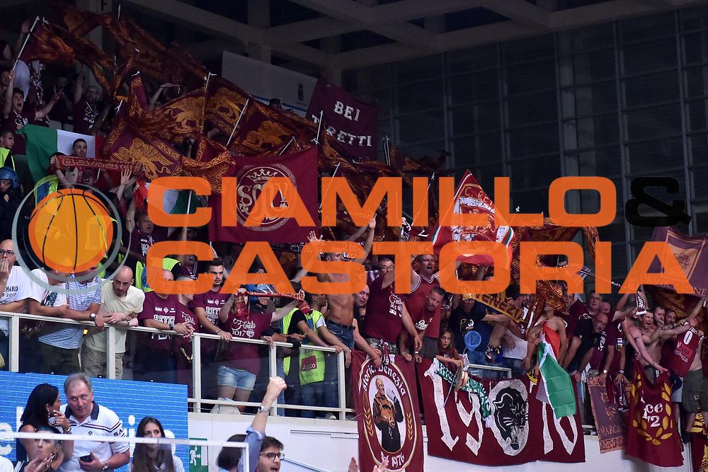 tifosi venezia<br /> Dolomiti Energia Trento - Umana Reyer Venezia<br /> Lega Basket Serie A 2016-2017<br /> Playoff FINALE Gara 6<br /> Avellino 20/06/2017<br /> Foto Ciamillo-Castoria