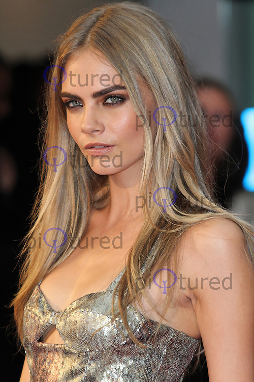 LONDON - SEPTEMBER 04: Cara Delevingne attended the World Film Premiere of 'Anna Karenina' at the Odeon cinema, Leicester Square, London, UK. September 04, 2012. (Photo by Richard Goldschmidt)