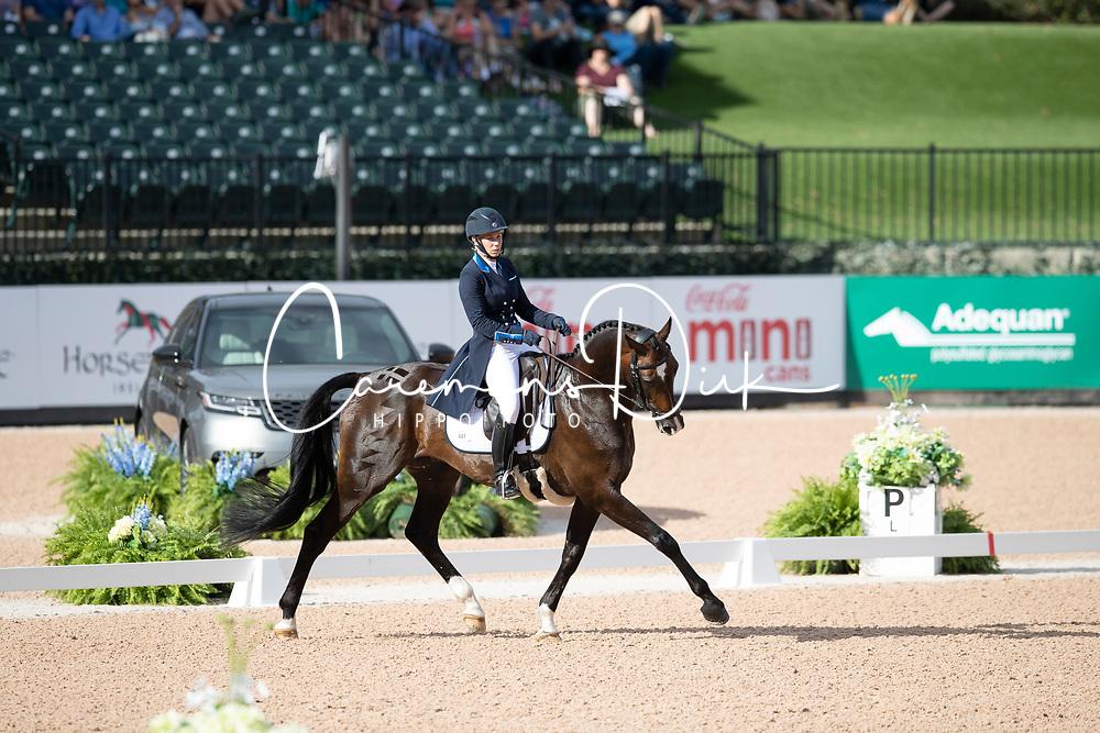 Swindells Pauliina, FIN, Ferro S<br /> World Equestrian Games - Tryon 2018<br /> © Hippo Foto - Dirk Caremans<br /> 14/09/2018