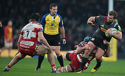 December 27, 2016 - London, England, United Kingdom - Harlequins Rob Buchanan during Aviva Premiership Rugby match between Harlequins and Gloucester Rugby at The Twickenham Stadium, London on 27 Dec 2016  (Credit Image: © Kieran Galvin/NurPhoto via ZUMA Press)