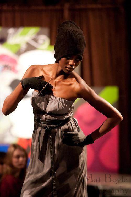 Models from Wilhelmina Models wearing S-Love walk the runway at the 2009 Philadelphia Fashion Week.