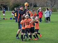 UNISON - Kids football, Napier, - Hawkes Bay, New Zealand, 02 June 2018. Photo by John Cowpland / alphapix