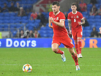 Football - 2019 / 2020 International Friendly - Wales vs. Belarus<br /> <br /> Ben Davies of Wales on the attack, at Cardiff City Stadium.<br /> <br /> COLORSPORT/WINSTON BYNORTH