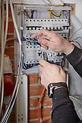 Enemærke & Petersens serviceafdeling i Ringsted,montering af elskab, hfi-relæ, elektriker, elektrikerarbejde, elledninger, strøm, el, , montering af elskab, hfi-relæ, elektriker, elektrikerarbejde, elledninger, strøm, el,