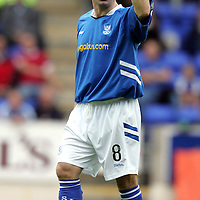St Johnstone season 2005/06<br />Darren Sheridan<br /><br />Picture by Graeme Hart.<br />Copyright Perthshire Picture Agency<br />Tel: 01738 623350  Mobile: 07990 594431