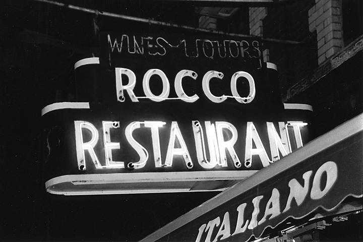 Rocco Restaurant in NYC