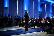 Silvio Berlusconi durante la conferenza degli Amministratori locali di Forza Italia di Roma e del Lazio. Roma 16 Ottobre 2015. Christian Mantuano / OneShot <br /> <br /> Italian former premier and Forza Italia (FI) leader Silvio Berlusconi speaks during the meeting with FI local administrators in Rome, Italy, 16 October 2015. Christian Mantuano / OneShot