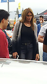 EXCLUSIVE Caitlin Jenner at the woodland hills car show