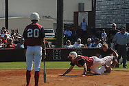 Lafayette High vs. Kosciusko in high school baseball playoff action in Kosciusko, Miss. on Saturday, April 23, 2011.