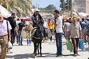 Eid Al-Adha / Eid El-Kbir preparations,, Moulay Idriss Zerhoun Medina, Middle Atlas, Morocco, 2015-09-19.