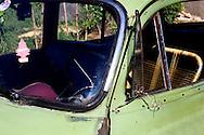 Beater car in Artemisa, Cuba.