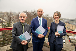 Pictured: Professor David Bell (University of Stirling), Ben Macpherson and Professor Christina BoswellMigration Minister Ben Macpherson visited Think Tank Maths Ltd in Edinburgh today on the day a report on migration by an expert panel was published.  The Expert Advisory Group on Migration and Population, chaired by Professor Christina Boswell of the University of Edinburgh, was asked to give independent expert advice to the Scottish Government on migration, population growth and demographic change.<br />