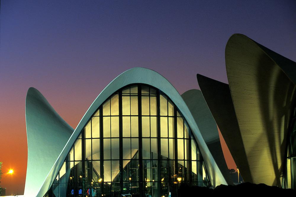 ESPA&Ntilde;A / VALENCIA<br /> Ciudad de las Artes y las Ciencias de Valencia.<br /> Oceanogr&aacute;fico.