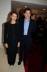 LADY SARAH CHATTO daughter of the late Princess Margaret and her husband MR DANIEL CHATTO at a party to celebrate the 90th birthday of Vogue magazine held at The Serpentine Gallery, Kensington Gardens, London on 8th November 2006.<br />
