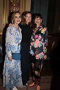 ELAINE SULLIVAN; DEE STIRLING; CANDIDA GERTLER, TenTen. The Government Art Collection/Outset Annual Award. Champagne reception to announce the inaugural artist Hurvin Anderson and unveil his 2018 print. Locarno Suite, Foreign and Commonwealth Office. SW1. 2 October 2018