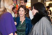 CALGARY AVANSINO; JAN ESPOSITO; FIONA ANGELINS, Smythson Sloane St. Store opening. London. 6 February 2012.