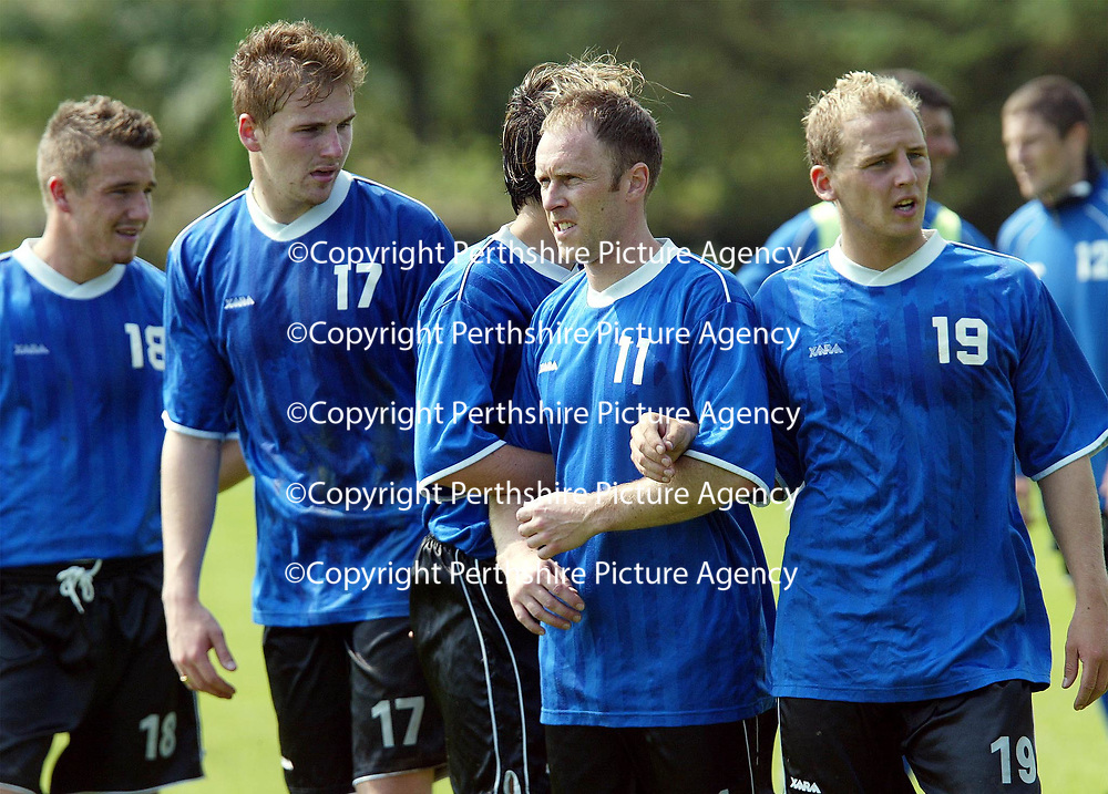 St Johnstone Training...18.10.02<br />
