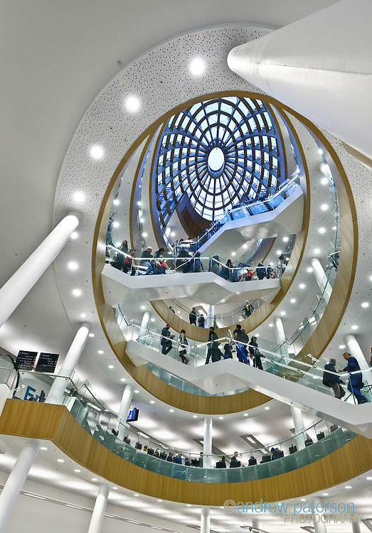 The interior of Liverpool Central Library after a £50m refurbishment.