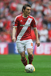 Dean Whitehead Middlesbrough, Middlesbrough v Norwich, Sky Bet Championship, Play Off Final, Wembley Stadium, Monday  25th May 2015