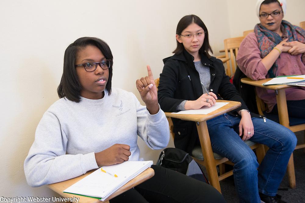 School of Education - Sign Language Class