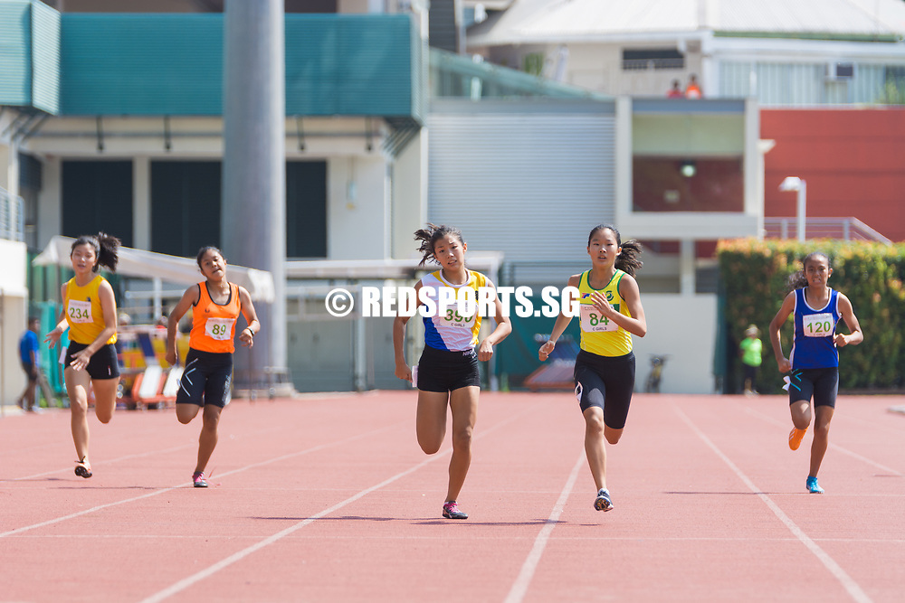 Bishan Stadium, Monday, 24 April, 2017 — Only God knows how much Samuel Lim and Emily Ong slept the night before their respective 200-metre finals. Facing his first individual final at the 58th National Schools Track and Field Championships, Samuel was wrecked with self doubt. Emily earlier won the 400-metre final, but knew a formidable rival in Bernice Liew lay in wait. Story: https://www.redsports.sg/2017/04/26/c-div-200m/