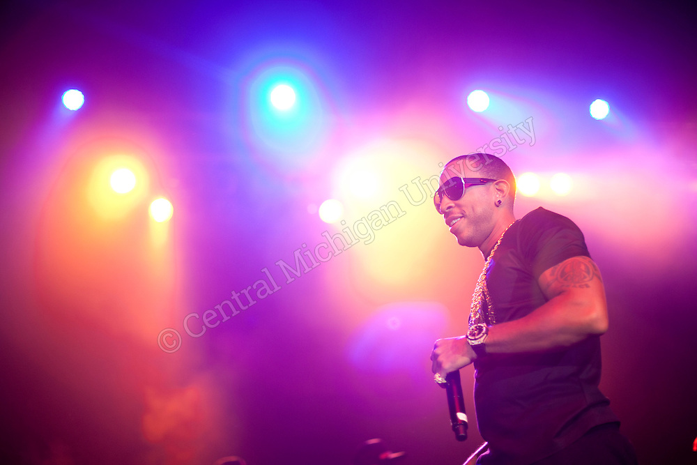 Ludacris comes back to CMU for a concert in McGuirk Arena. Concert hosted by CMU Program Board.