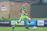 Forest Green Rovers Carl Winchester(7) runs forward during the The FA Cup match between Forest Green Rovers and Billericay Town at the New Lawn, Forest Green, United Kingdom on 9 November 2019.