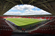 Doncaster Rovers Keepmoat stadium before the EFL Sky Bet League 1 match between Doncaster Rovers and Gillingham at the Keepmoat Stadium, Doncaster, England on 5 August 2017. Photo by Ian Lyall.