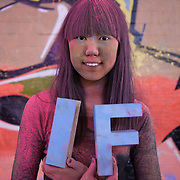 Rachel Chung. The video the Power of IF was filmed in a tunnel by Waterloo and was filmed and produced by Armoury London. More than a hundred 16 - 25 yr olds joined a creative paint-fuelled event to express their support for the Enough Food IF campaign. While making the video was a fun and colourful process, the message remains a serious one: global hunger is outrageous and unacceptable.