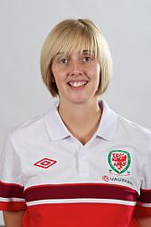CARDIFF, WALES - Wednesday, September 12, 2012: Wales' Women's International Development Angela Roberts. (Pic by David Rawcliffe/Propaganda)