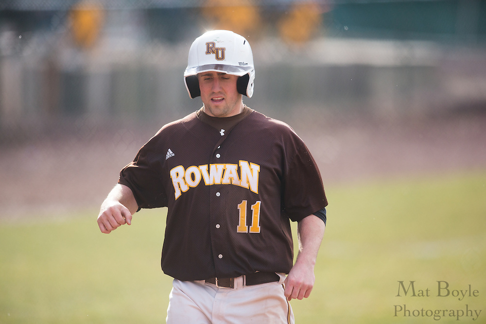 Rowan University Senior Infielder Danny Lang (11) - Penn State Abington Baseball at Rowan University at Rowan University in Glassboro, NJ on Wednesday March 13, 2013. (photo / Mat Boyle)