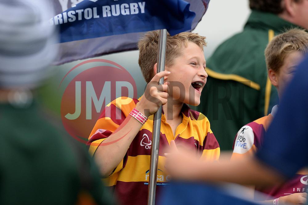Bristol Rugby fan - Mandatory by-line: Dougie Allward/JMP - 27/08/2016 - RUGBY - Clifton RFC - Bristol, England - Bristol Rugby v Wasps - Pre-season friendly