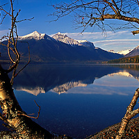 Lake McDonald. Glacier National Park, Montana.