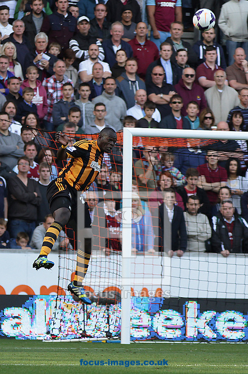Picture by Richard Gould/Focus Images Ltd +44 7855 403186<br /> 28/09/2013<br /> Abdoulaye Diagne-Faye of Hull City in action during the Barclays Premier League match at the KC Stadium, Kingston upon Hull.