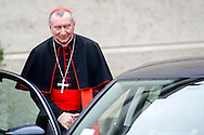 Vatican City oct 9th, 2015, extraordinary synod on family. in the picture Pietro Parolin
