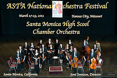 Santa Monica High School Chamber Orchestra, March 17, 2011