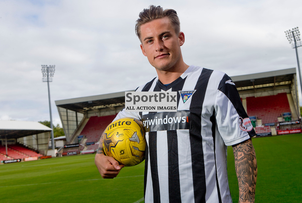 DAFC Sign Rhys McCabe East End Park 18 September 2015<br /> <br /> (c) CRAIG BROWN | SportPix.org.uk
