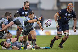 December 8, 2018 - Galway, Ireland - James Mitchell of Connacht in action during the European Rugby Challenge Cup between Connacht Rugby and Parpignan at the Sportsground in Galway, Ireland on December 8, 2018  (Credit Image: © Andrew Surma/NurPhoto via ZUMA Press)