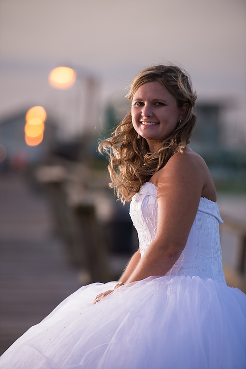 Courtney Bridal Portrait | Atlantic Beach NC Photographers