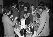 24/01/1979.01/24/1979.24th January 1979.Various people try samples of Sodastream at the Irish launch in the Burlington Hotel.