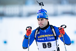 March 9, 2019 - –Stersund, Sweden - 190309 Giuseppe Montello of Italy competes in the Men's 10 KM sprint during the IBU World Championships Biathlon on March 9, 2019 in Östersund..Photo: Johan Axelsson / BILDBYRÃ…N / Cop 245 (Credit Image: © Johan Axelsson/Bildbyran via ZUMA Press)