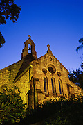 All Saints Church at sunset - Brisbane, Australia <br />