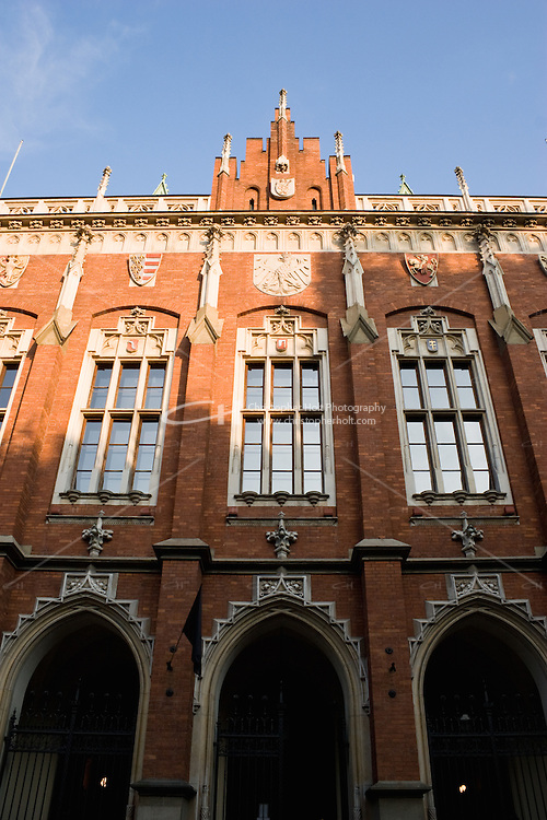 Witkowski College in Jagiellonian University building in Krakow Poland