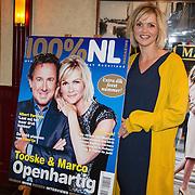 NLD/Volendam/20151029 - Onthulling cover 100% NL Magazine, Tooske Ragas onthult cover van het nieuwe magazine