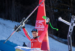 01.02.2020, Kandahar, Garmisch, GER, FIS Weltcup Ski Alpin, Abfahrt, Herren, Siegerehrung, im Bild Thomas Dressen (GER, 1. Platz) // race winner Thomas Dressen of Germany during the winner ceremony for the men's downhill of FIS Ski Alpine World Cup at the Kandahar in Garmisch, Germany on 2020/02/01. EXPA Pictures © 2020, PhotoCredit: EXPA/ Johann Groder