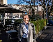 Genève, décembre 2018. Francis Waldvogel. Ancien président de la Chaire de Médecine de l' Université de Genève et des Ecoles Polytechniques Fédérales. © Olivier Vogelsang